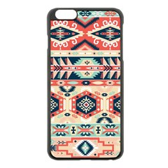 Aztec Pattern Copy Apple Iphone 6 Plus/6s Plus Black Enamel Case