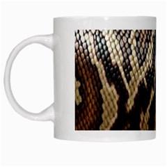 Snake Skin O Lay White Mugs