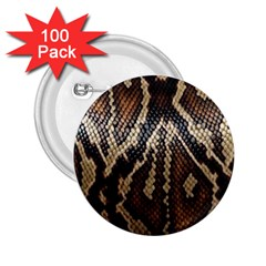 Snake Skin O Lay 2 25  Buttons (100 Pack)