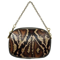 Snake Skin O Lay Chain Purses (One Side)