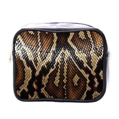 Snake Skin O Lay Mini Toiletries Bags