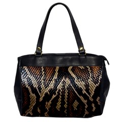 Snake Skin O Lay Office Handbags