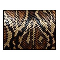 Snake Skin O Lay Fleece Blanket (small)