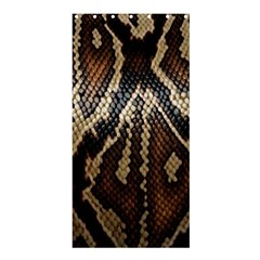 Snake Skin O Lay Shower Curtain 36  X 72  (stall)
