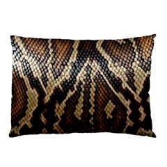 Snake Skin O Lay Pillow Case (two Sides)