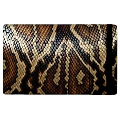 Snake Skin O Lay Apple Ipad 3/4 Flip Case