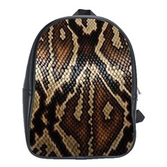 Snake Skin O Lay School Bags (xl)