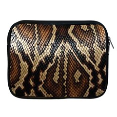 Snake Skin O Lay Apple Ipad 2/3/4 Zipper Cases