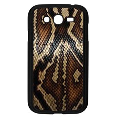 Snake Skin O Lay Samsung Galaxy Grand DUOS I9082 Case (Black)