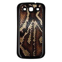 Snake Skin O Lay Samsung Galaxy S3 Back Case (black)