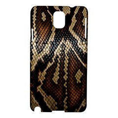 Snake Skin O Lay Samsung Galaxy Note 3 N9005 Hardshell Case