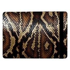 Snake Skin O Lay Samsung Galaxy Tab Pro 12.2  Flip Case