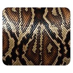 Snake Skin O Lay Double Sided Flano Blanket (Small)  50 x40 Blanket Back