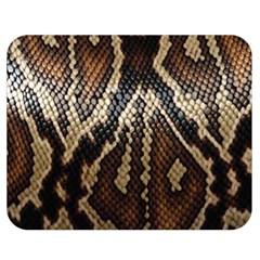 Snake Skin O Lay Double Sided Flano Blanket (medium)