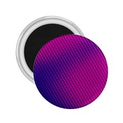 Purple Pink Dots 2.25  Magnets