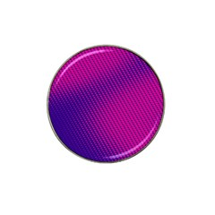 Purple Pink Dots Hat Clip Ball Marker (10 pack)