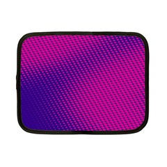 Purple Pink Dots Netbook Case (Small)
