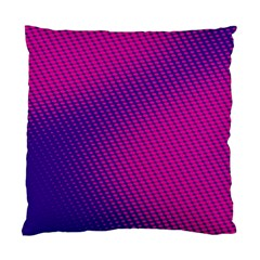 Purple Pink Dots Standard Cushion Case (two Sides)