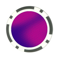 Purple Pink Dots Poker Chip Card Guard (10 Pack)