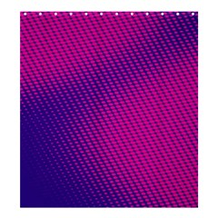 Purple Pink Dots Shower Curtain 66  X 72  (large)