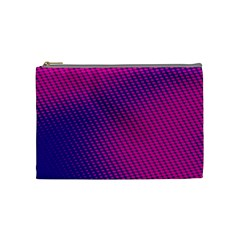Purple Pink Dots Cosmetic Bag (Medium)