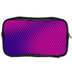 Purple Pink Dots Toiletries Bags