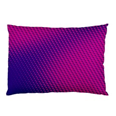 Purple Pink Dots Pillow Case (two Sides)
