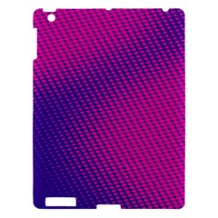 Purple Pink Dots Apple Ipad 3/4 Hardshell Case