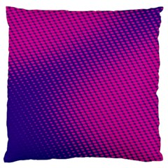 Purple Pink Dots Large Cushion Case (Two Sides)