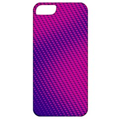 Purple Pink Dots Apple iPhone 5 Classic Hardshell Case