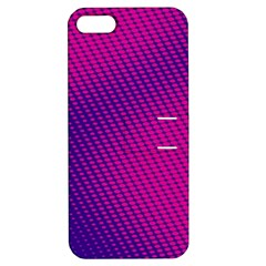 Purple Pink Dots Apple iPhone 5 Hardshell Case with Stand
