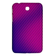 Purple Pink Dots Samsung Galaxy Tab 3 (7 ) P3200 Hardshell Case