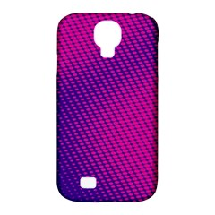 Purple Pink Dots Samsung Galaxy S4 Classic Hardshell Case (PC+Silicone)