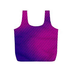 Purple Pink Dots Full Print Recycle Bags (s)