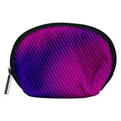 Purple Pink Dots Accessory Pouches (medium)