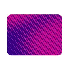 Purple Pink Dots Double Sided Flano Blanket (mini)