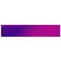 Purple Pink Dots Flano Scarf (Small)