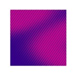 Purple Pink Dots Small Satin Scarf (Square) Front