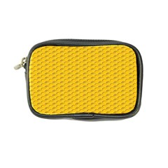 Yellow Dots Pattern Coin Purse