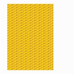 Yellow Dots Pattern Small Garden Flag (Two Sides)