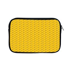 Yellow Dots Pattern Apple Ipad Mini Zipper Cases