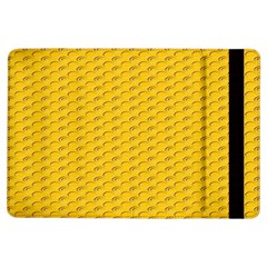 Yellow Dots Pattern Ipad Air Flip