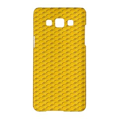 Yellow Dots Pattern Samsung Galaxy A5 Hardshell Case