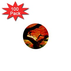 Maple Tree Nice 1  Mini Buttons (100 Pack)