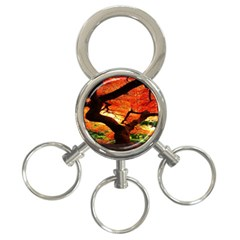 Maple Tree Nice 3-Ring Key Chains