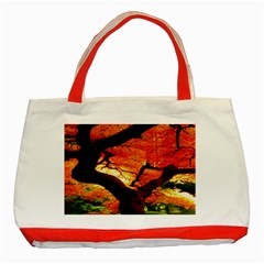 Maple Tree Nice Classic Tote Bag (red)