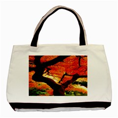 Maple Tree Nice Basic Tote Bag (two Sides)