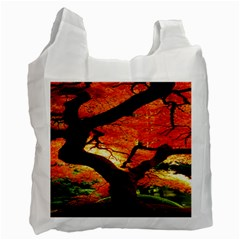 Maple Tree Nice Recycle Bag (two Side)