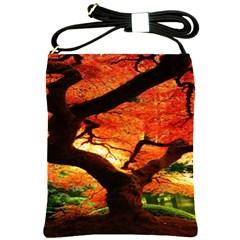 Maple Tree Nice Shoulder Sling Bags