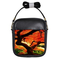 Maple Tree Nice Girls Sling Bags